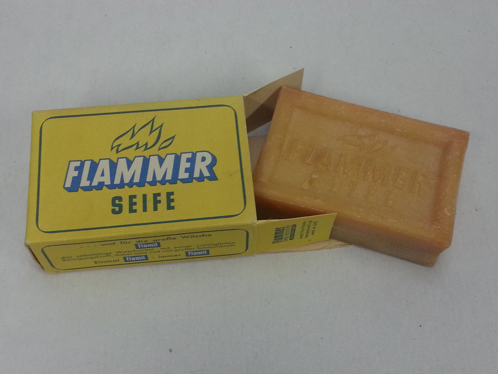 Original WWII German Flammer Seife Soap