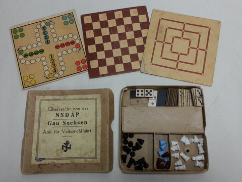 Original WWII German NSDAP Board Game Set
