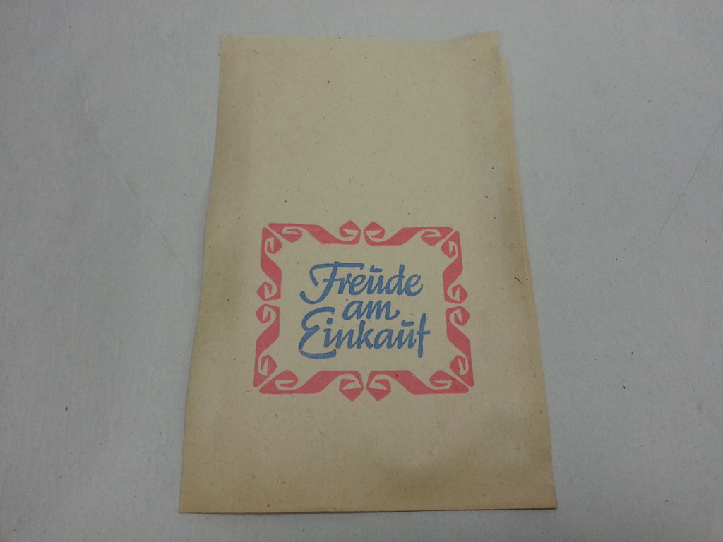 Original WWII German Paper Shopping Bag