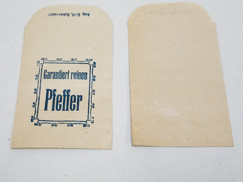Original WWII German Pepper Bag August Grill, Schorndorf