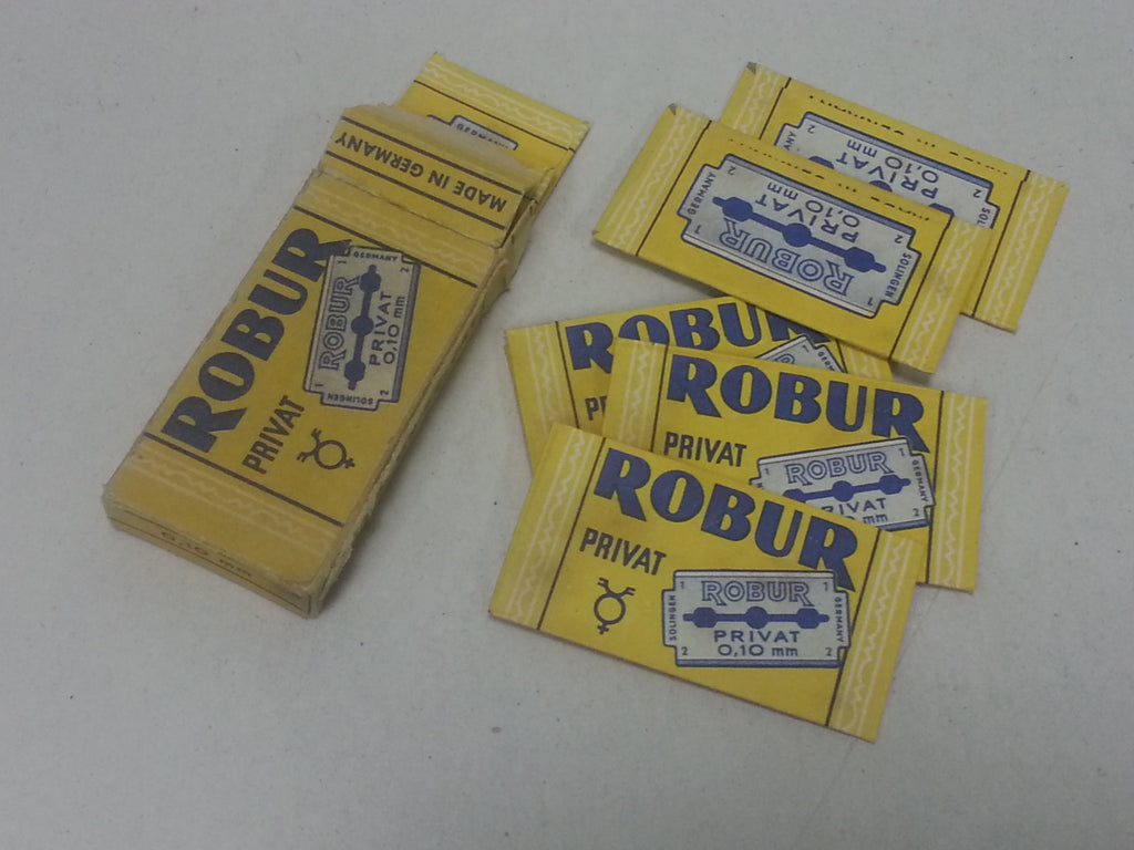 Original WWII German Robur Razor Blades