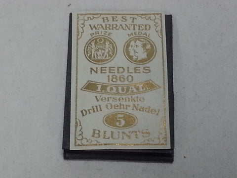 Original WWII German Sewing Needles