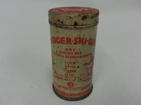 Original WWII German Ski Wax Dunzinger