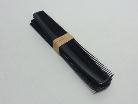 Original WWII German Tönisul Black Hair Combs