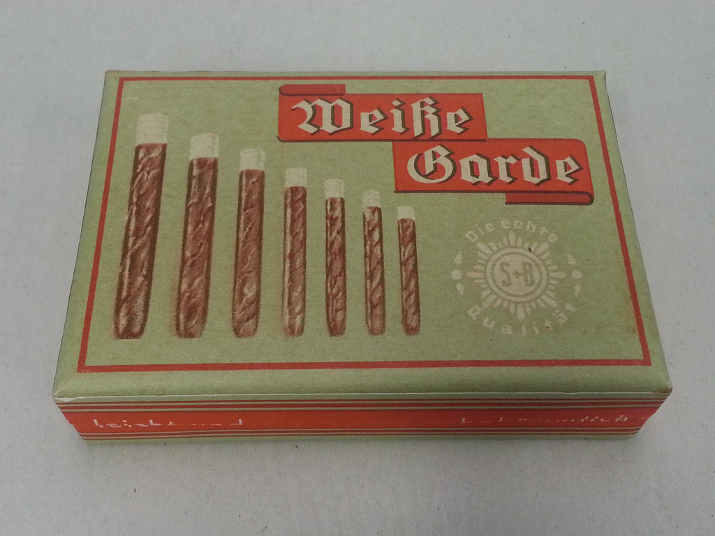 Original WWII German Weisse Garde Box