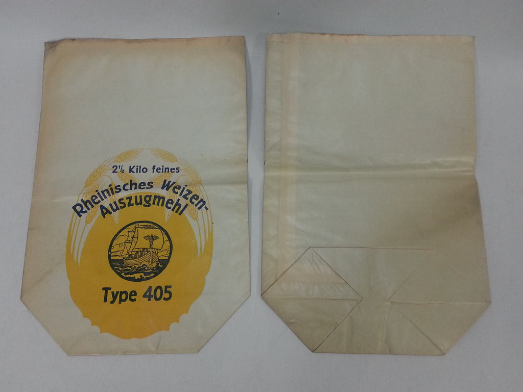 Original WWII German Weizen Flour Bag 2.5 Kilo
