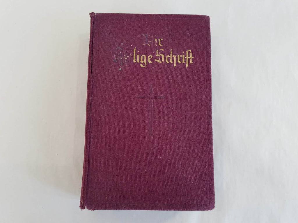 Pre-WWII German Holy Bible Die Heilige Schrift 1933