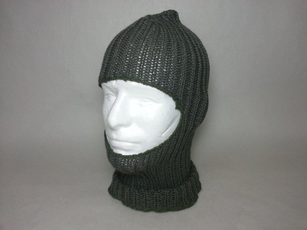 Repro Russian Soviet WWII Winter Knitted Cap/ Hood