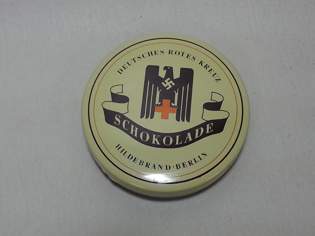 Repro WWII German DRK Red Cross Chocolate Tin
