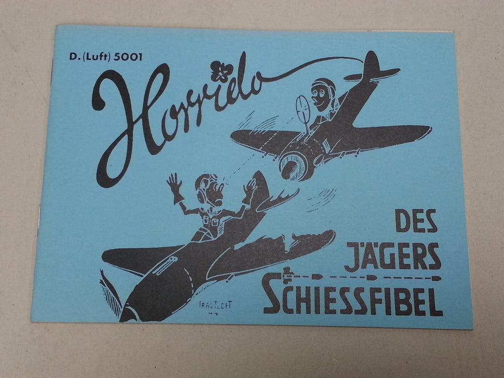 Repro WWII German Luftwaffe Pilot's Booklet Horrido