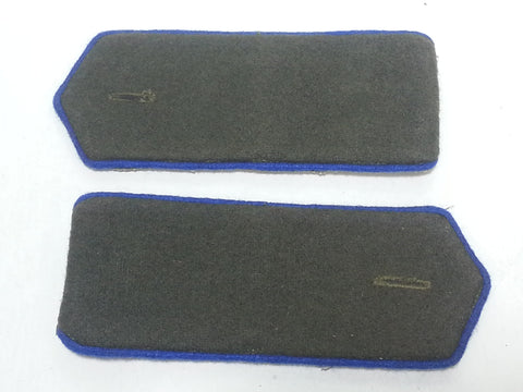 Repro WWII Soviet Russian Shoulder Boards Blue Piping - Cavalry, NKVD