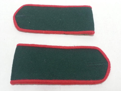 Repro WWII Soviet Russian Shoulder Boards Red Piping - Medical, Artillery, Armor