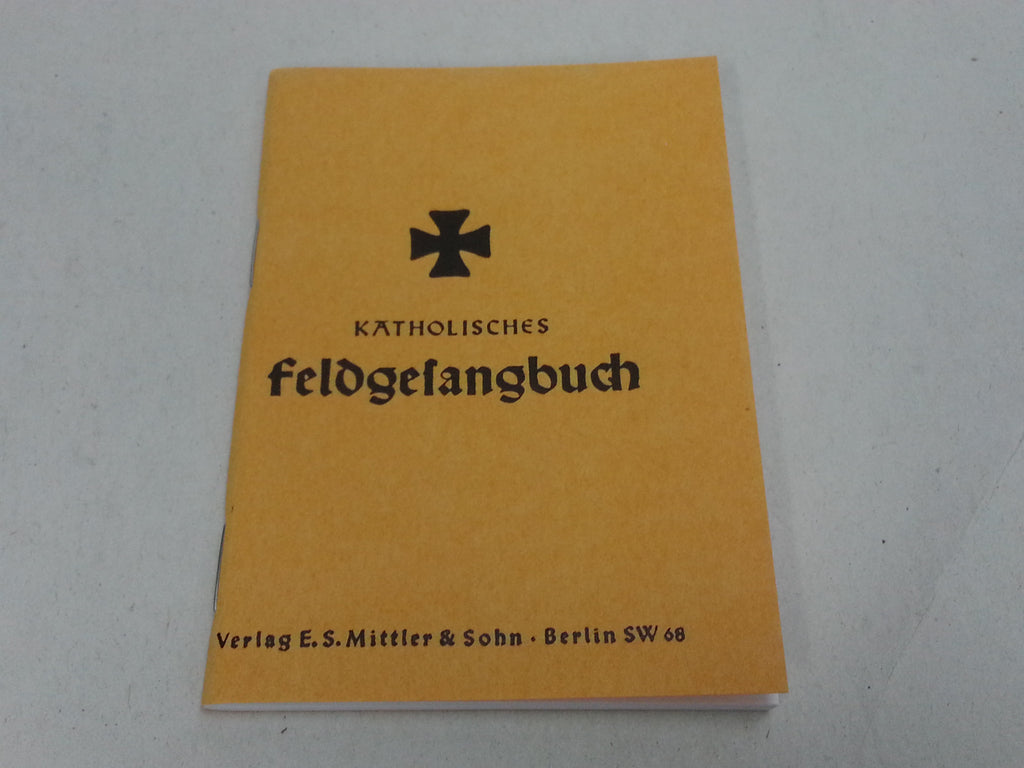 Reproduction WWII German Catholic Field Hymn Book