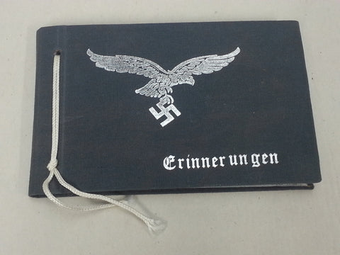 Reproduction WWII German Luftwaffe Pocket Photo Album