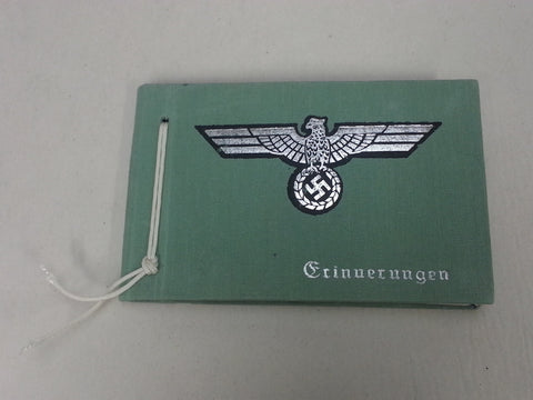 Reproduction WWII German Wehrmacht Pocket Photo Album