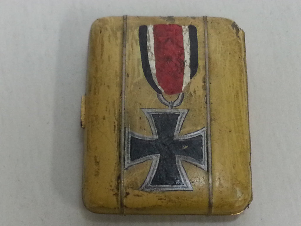 WWII Cigarette Case with German Iron Cross