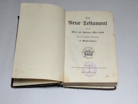 German New Testament Bible