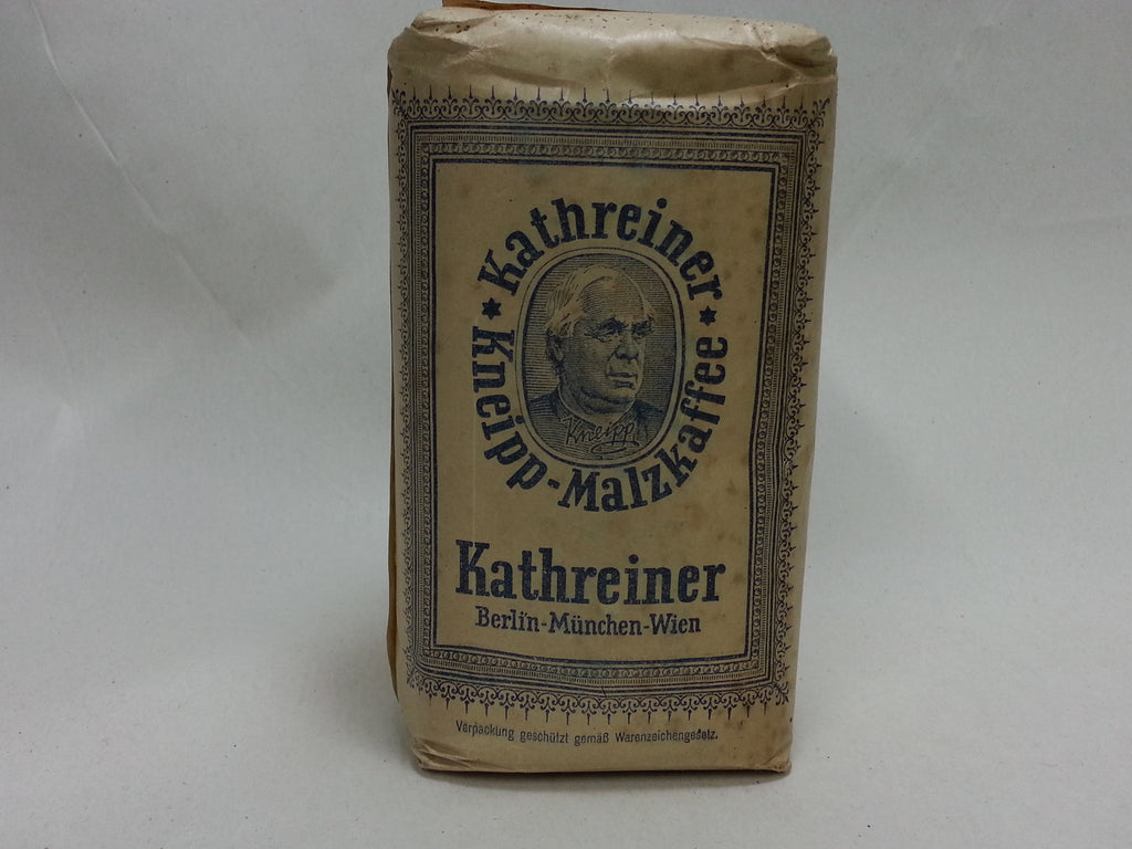 WWII German 500 Gramm Bag of Kathreiner Malt Coffee