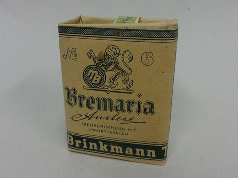 WWII German 50 Gramm Bag of Bremaria Brinkmann Tobacco
