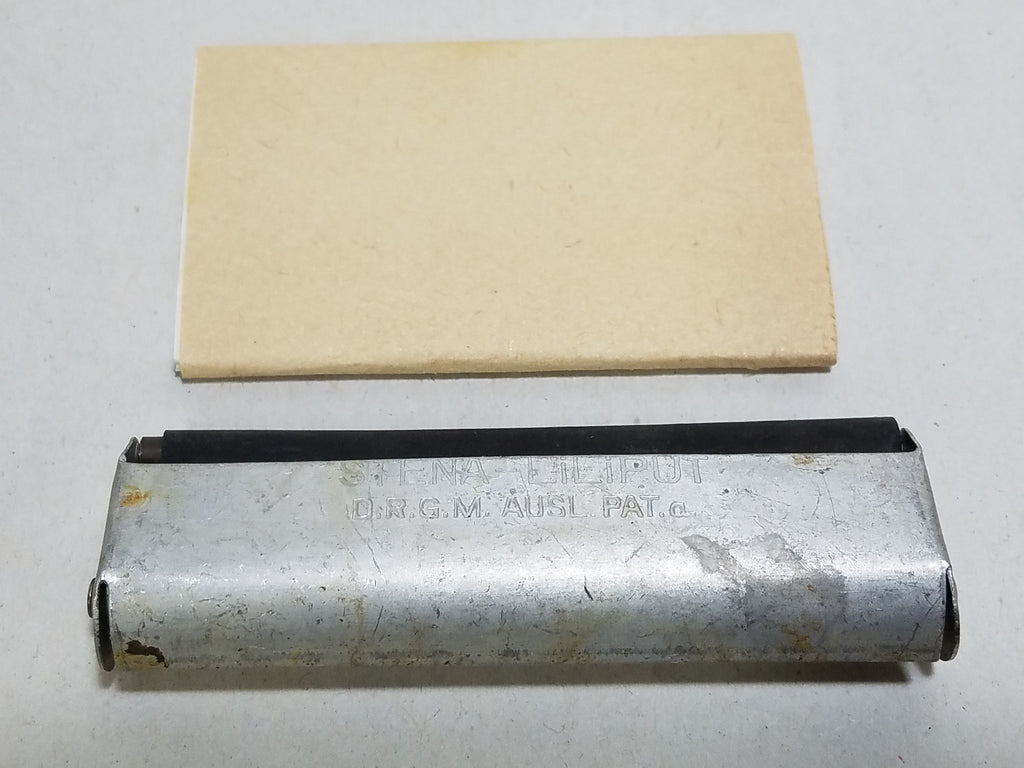 WWII German Aluminum Siena Liliput Cigarette Rolling Machine & Papers D.R.G.M.