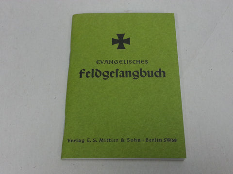WWII German Evangelical  Protestant Field Hymn Book