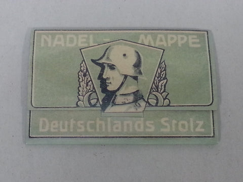 WWII German Soldiers Sewing Needle Set Reproduction