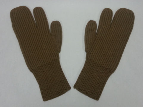 WWII Soviet Russian Trigger Finger Mittens Reproduction