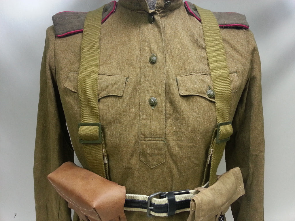 WWII Soviet Russian Y-Straps Reproduction – Ostfront