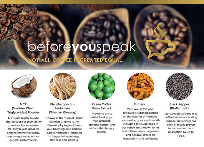 Image result for before you speak coffee banner