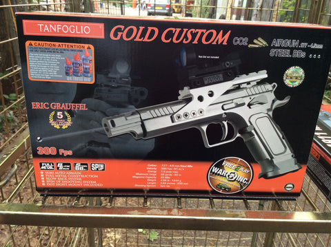 Tanfoglio gold custom air gun bb