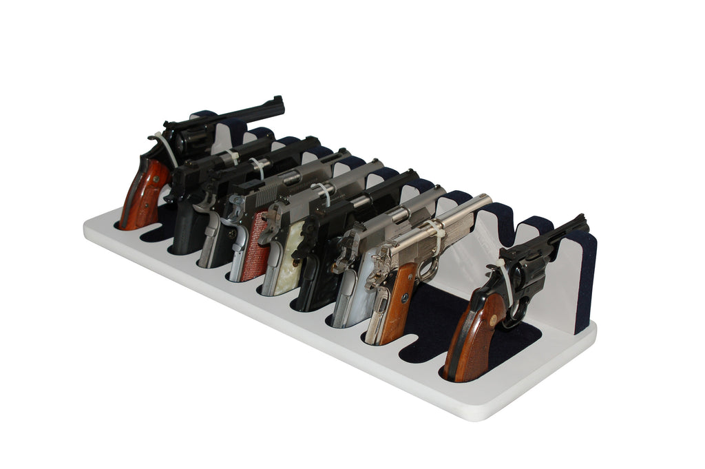 11 Slot Pistol Stand - P11-04 - Large Frame Revolvers and Semi-Automatics