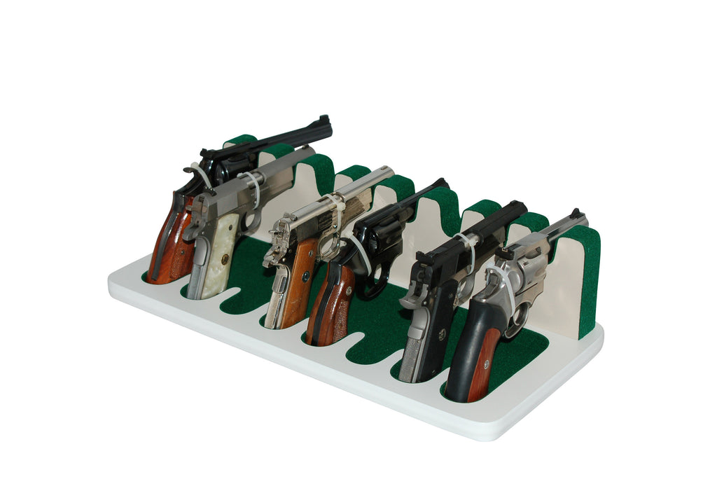 8 Slot Pistol Stand - P8-04 - Large Frame Revolvers and Semi-Automatics