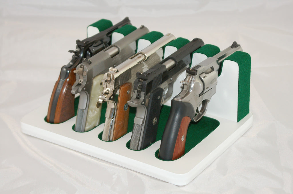 5 Slot Pistol Stand - P5-02 - Large and Standard frame