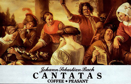 When Art is Imitating Life: Bach and Coffee