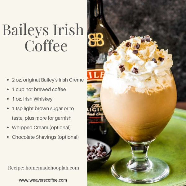 Baileys Irish Coffee Recipe