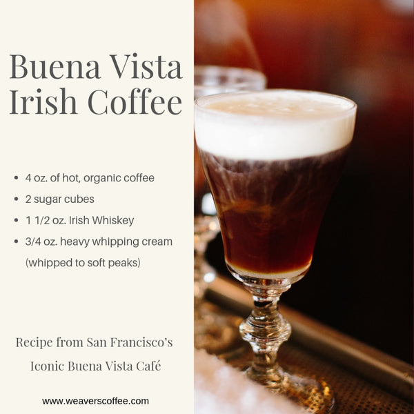 Buena Vista Irish Coffee - San Francisco Restaurant