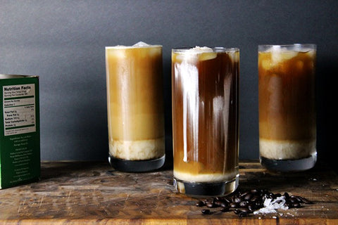 Iced Salt Coffee