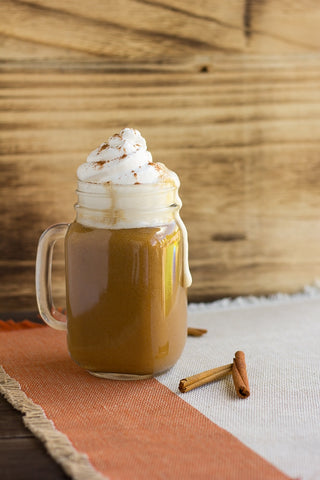 Vegan Pumpkin Spiced Latte