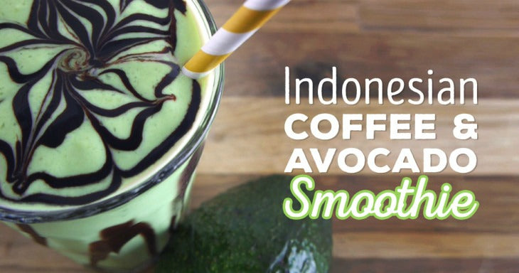 Indonesian Coffee Avocado Smoothie Recipe