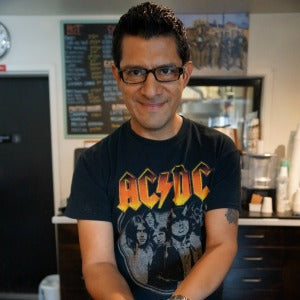 Alex, Coffee Artist, San Rafael Cafe
