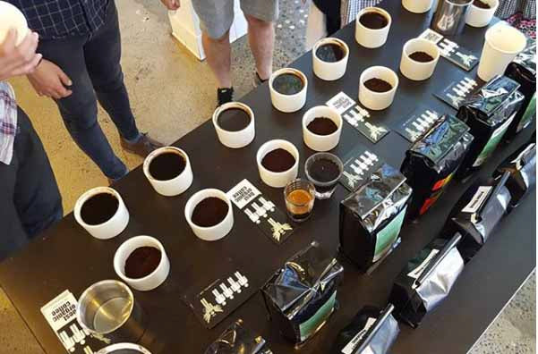 Coffee Tasting at Weaver's Coffee & Tea in San Francisco