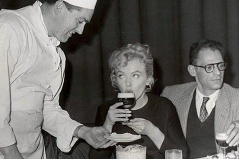 Joe Sheridan serving Marilyn Monroe Irish Coffee