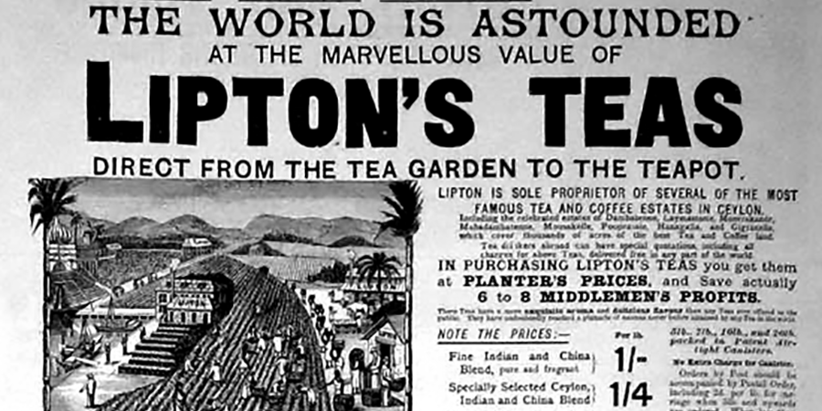 Lipton Tea Empire