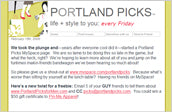 Portland Picks Review