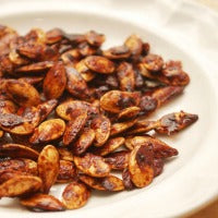 Cinnamon-Sugar Baked Pumpkin Seeds