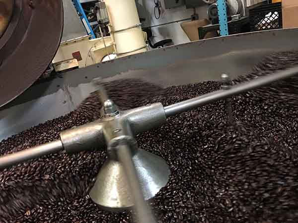 Roasting Sumatra Coffee