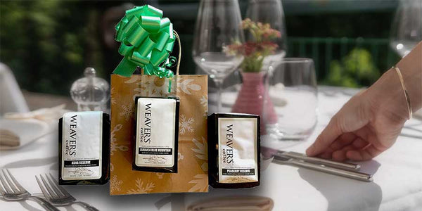 white label reserve coffee holiday gift