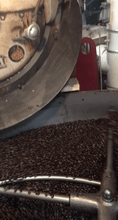 Tanzania Coffee being hand roasted
