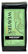 Photo of a bag of Weaver's Hackers Delight Coffee