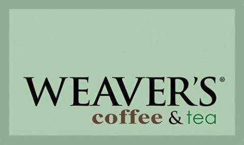 weaverscoffee.com Gift Card - Online Only - Starting at $50 and up to $500